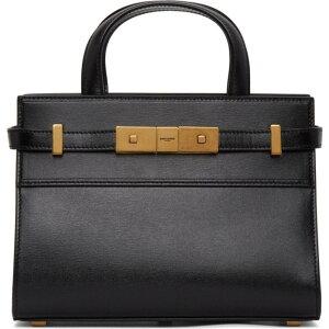 イヴ サンローラン Saint Laurent レディース バッグ 【Black Nano Manhattan Bag】Black