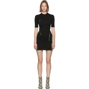 فستان ألكسندر وانغ للسيدات من قطعة واحدة [أسود]
