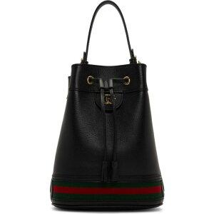 グッチ Gucci レディース ショルダーバッグ バケットバッグ バッグ【black ophidia bucket bag】Black
