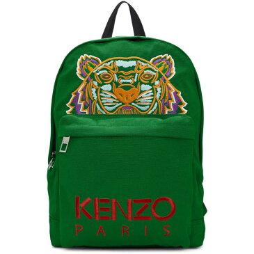 ケンゾー メンズ バッグ バックパック・リュック【Green Tiger Logo Backpack】