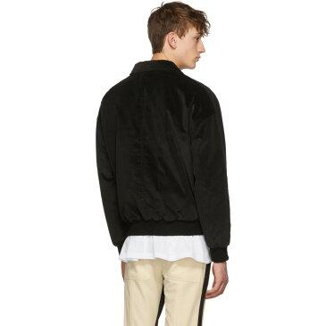 フィアオブゴッド メンズ アウター ジャケット【SSENSE Exclusive Black Corduroy Coaches Jacket】