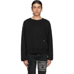 マスターマインド ジャパン mastermind JAPAN メンズ スウェット・トレーナー トップス【Black C2H4 Edition Accent Pin Logo Sweatshirt】Black