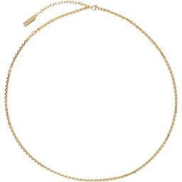 イヴ サンローラン Saint Laurent メンズ ネックレス ジュエリー・アクセサリー【Gold Chain Necklace】Gold