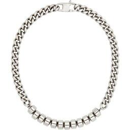 アリクス 1017 ALYX 9SM メンズ ネックレス チャーム ジュエリー・アクセサリー【Silver Candy Charm Necklace】Silver