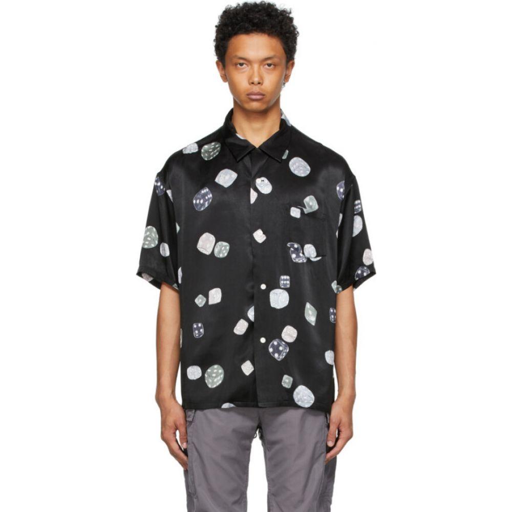 トップス, カジュアルシャツ  Visvim Black Wallace Short Sleeve ShirtBlack