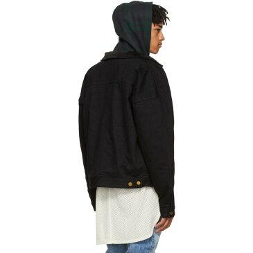 フィアオブゴッド メンズ アウター ジャケット【Black Selvedge Denim & Alpaca Jacket】