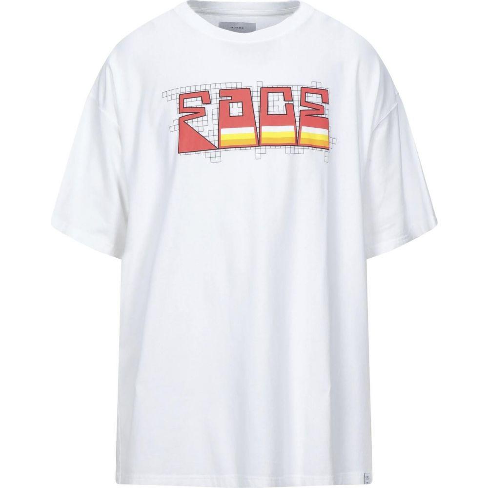 トップス, Tシャツ・カットソー  FACETASM T T-ShirtWhite