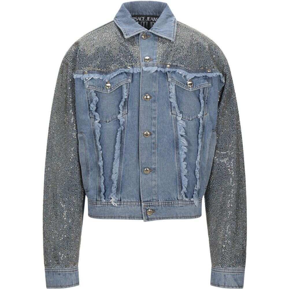 メンズファッション, コート・ジャケット  VERSACE JEANS COUTURE G Denim JacketBlue