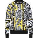 ジャスト カヴァリ JUST CAVALLI メンズ ニット・セーター トップス【Sweater】Black