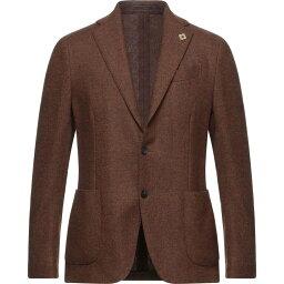 ラルディーニ LARDINI メンズ スーツ・ジャケット アウター【Blazer】Brown
