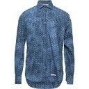 ティントリア マッティ TINTORIA MATTEI 954 メンズ シャツ トップス【Patterned Shirt】Blue