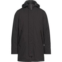 ピープルオブシブヤ PEOPLE OF SHIBUYA メンズ レインコート アウター【Full-Length Jackets】Black