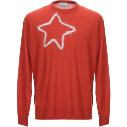 アクネ ストゥディオズ ACNE STUDIOS メンズ ニット・セーター トップス【Sweater】Brick red