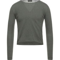 ロベルトコリーナ ROBERTO COLLINA メンズ ニット・セーター トップス【Sweater】Military green