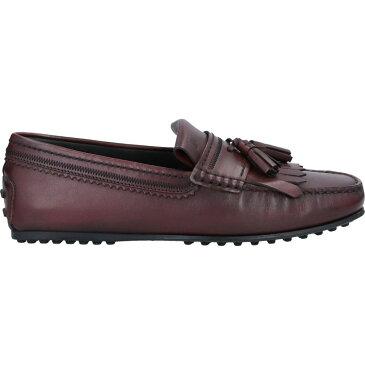 トッズ TOD'S メンズ ローファー シューズ・靴【loafers】Cocoa