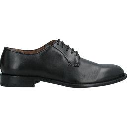 アンジェロ パロッタ ANGELO PALLOTTA メンズ 革靴・ビジネスシューズ シューズ・靴【Laced Shoes】Black