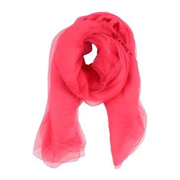 ダナ キャラン ニューヨーク DONNA KARAN レディース マフラー・スカーフ・ストール 【scarves】Fuchsia
