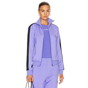 Balenciaga Women's Jacket Outerwear [Zip Up Jacket] Lilac/Black