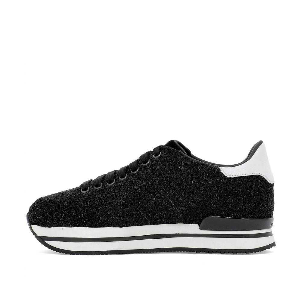 """ホーガン Hogan レディース シューズ・靴 スニーカー【""""H222"""" sneakers】Black"""