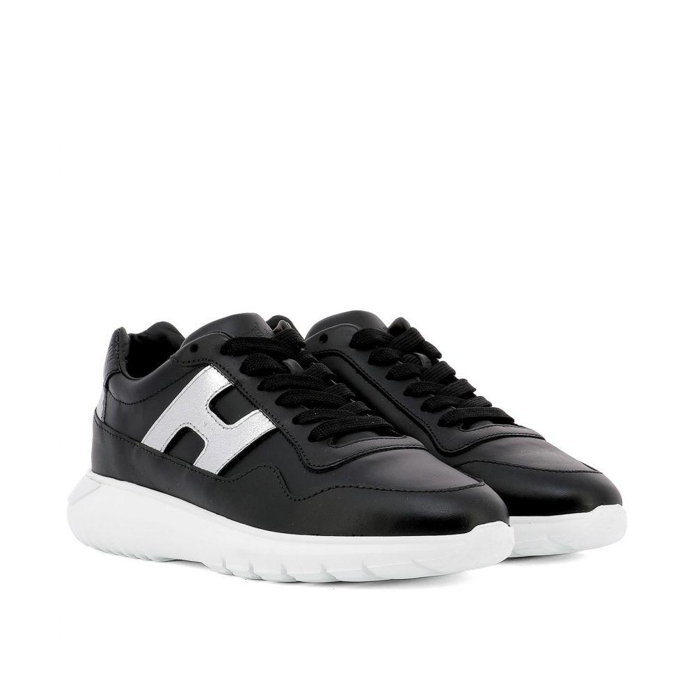"""ホーガン Hogan レディース シューズ・靴 スニーカー【""""Interactive3"""" sneakers】Black"""