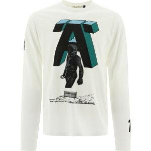 """アンダーカバー Undercover メンズ 長袖Tシャツ トップス【""""Astronaut"""" T-Shirt】White"""