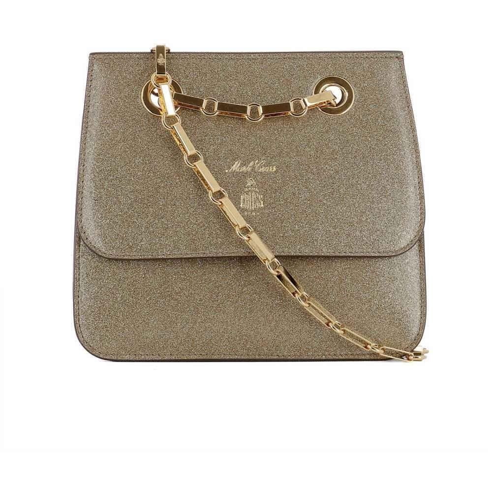 322c26fb8f76 マーククロス レディース バッグ ショルダーバッグ【Gold leather shoulder bag】Gold マーククロス レディース バッグ  ショルダーバッグ 【サイズ交換無料】