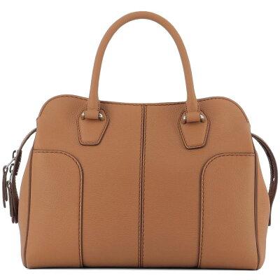 b31cf5e40db6 トッズ レディース バッグ ハンドバッグ【Brown leather handle bag ...