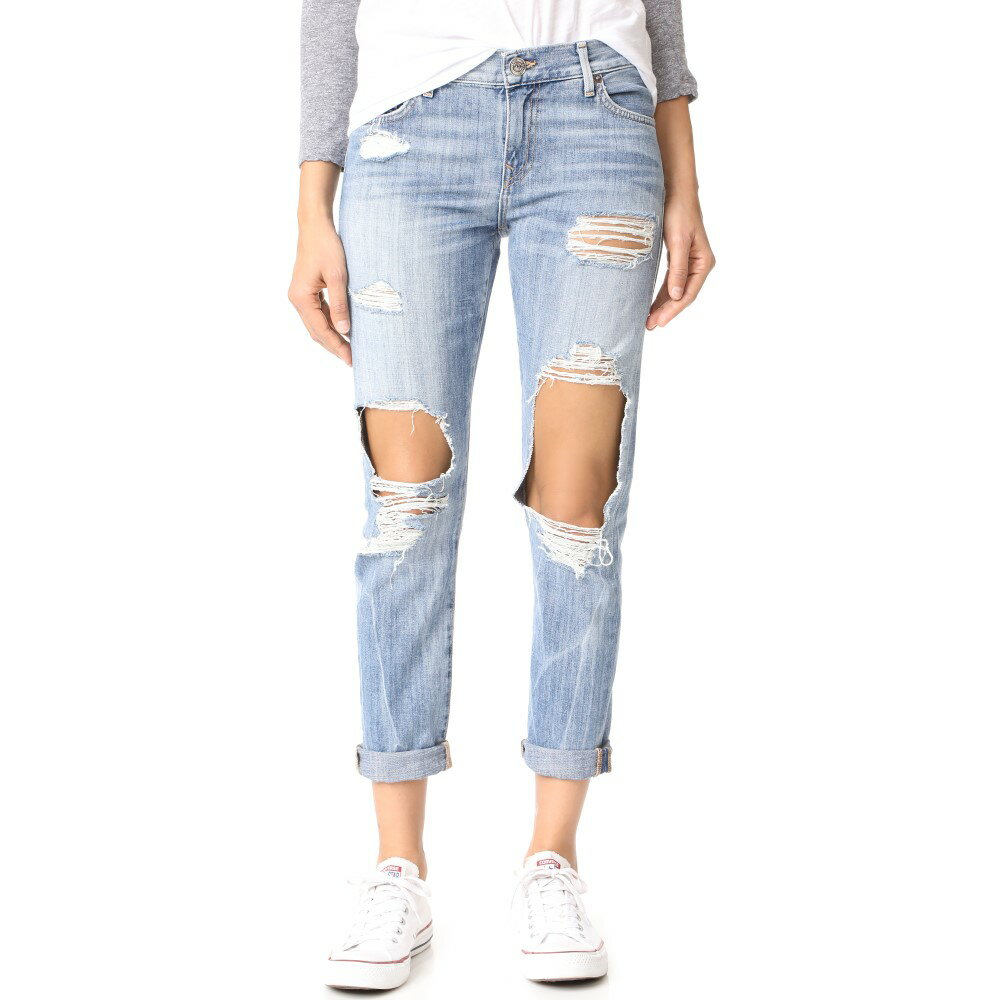 トゥルー レリジョン True Religion レディース ボトムス ジーンズ【Cameron Distressed Slim Boyfriend Jeans】Bad Girl:フェルマート