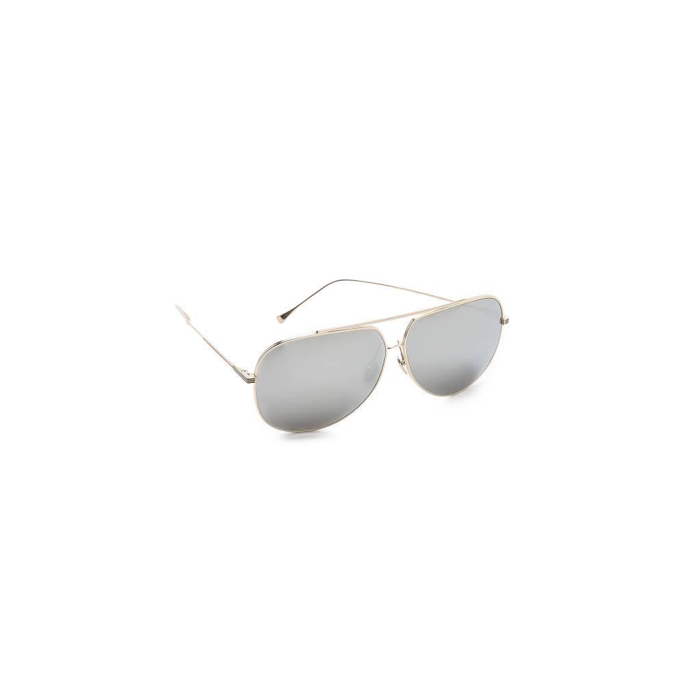 DITA Condor Sunglasses レディース サングラス ゴールド/シルバー