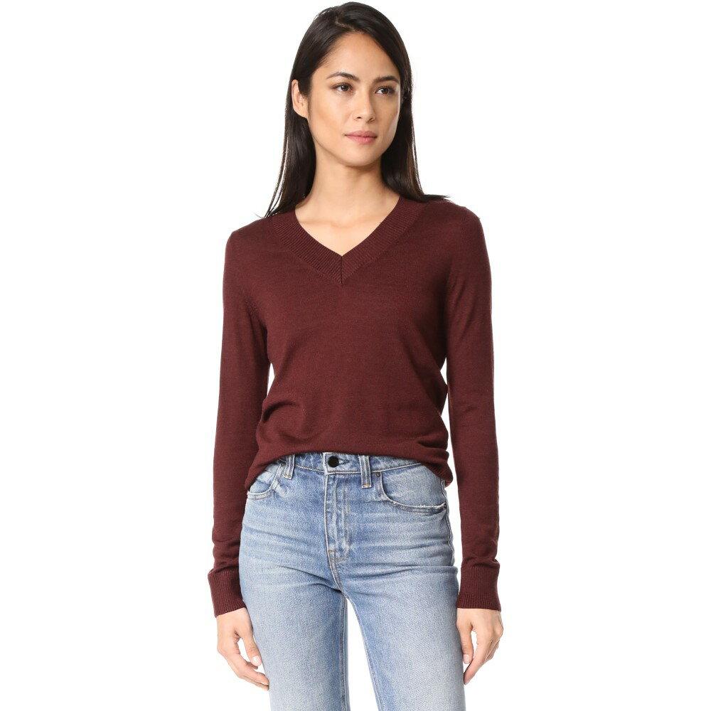アーペーセー A.P.C. レディース トップス ニット・セーター【Ava Sweater】Bordeaux:フェルマート