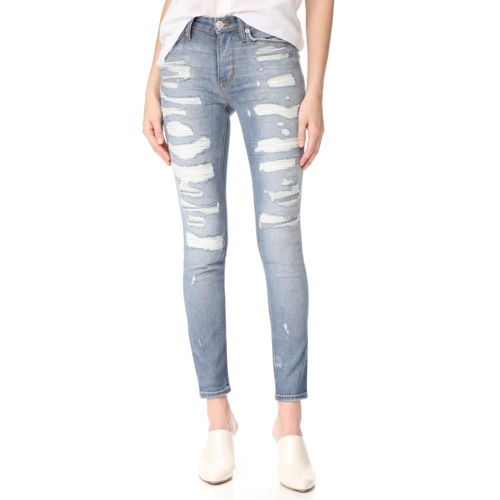 ハドソン Hudson レディース ボトムス ジーンズ【Nico Mid Rise Super Skinny Jeans】Southpaw:フェルマート