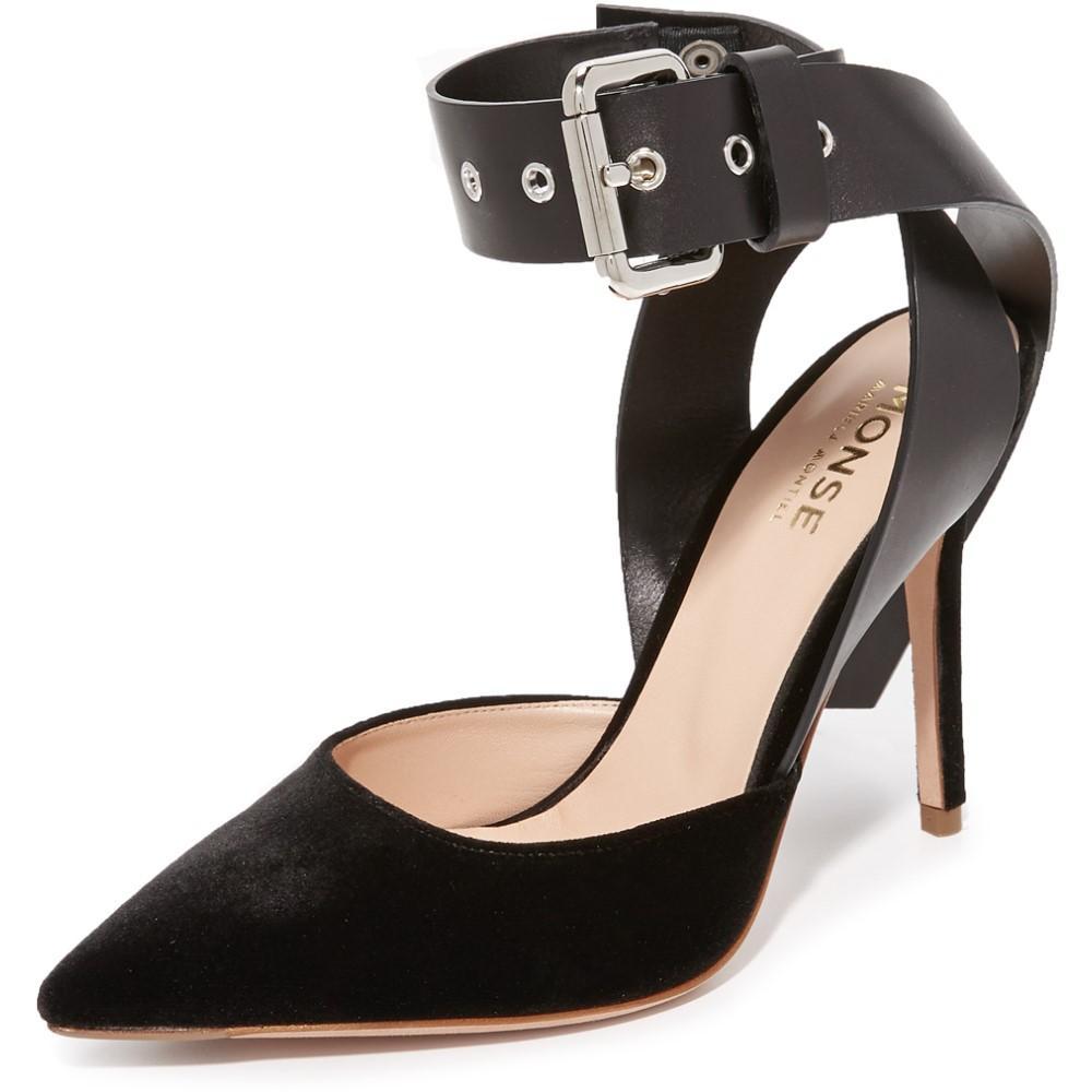 モンス Monse レディース シューズ・靴 パンプス【Velvet Heels】Black:フェルマート
