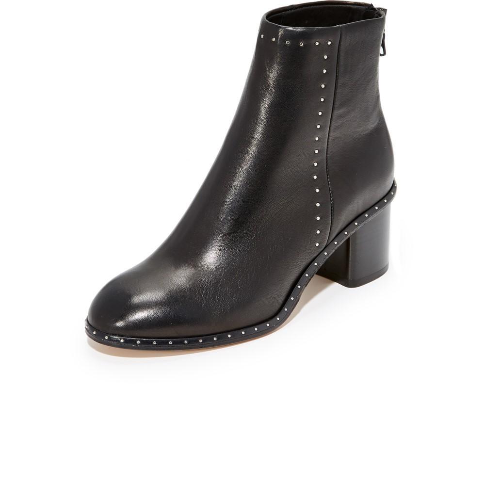 ラグ&ボーン レディース シューズ・靴 ブーツ【Willow Stud Booties】Black