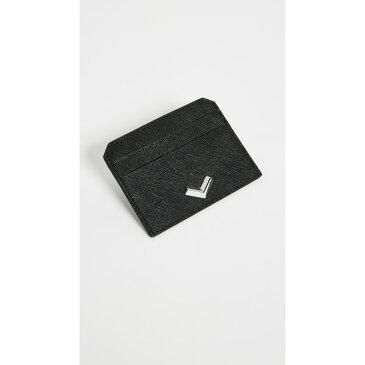 ボトキエ レディース カードケース・名刺入れ【Cobble Hill Card Case】Black