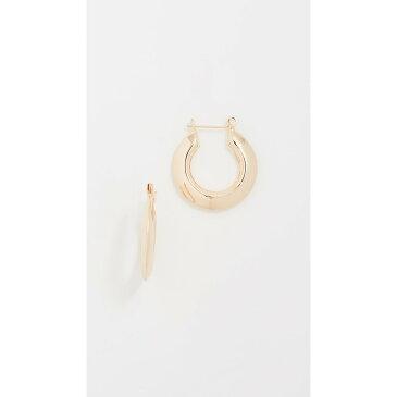 シャシ レディース ジュエリー・アクセサリー イヤリング・ピアス【Gianna Small Hoop Earrings】Yellow Gold