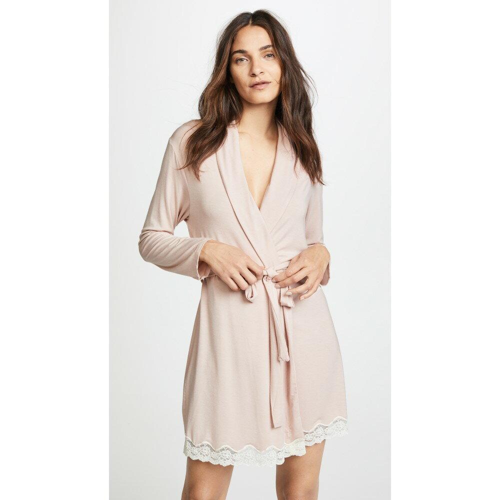 エバージェイ レディース インナー・下着 ガウン・バスローブ【Lady Godiva Robe】Pink Clay/Off White