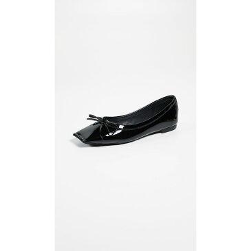 ジェフリー キャンベル レディース シューズ・靴 スリッポン・フラット【Achira Square Toe Flats】Black