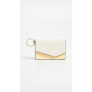 ボトキエ レディース カードケース・名刺入れ【Cobble Hill Card Case】Cream Colorblock