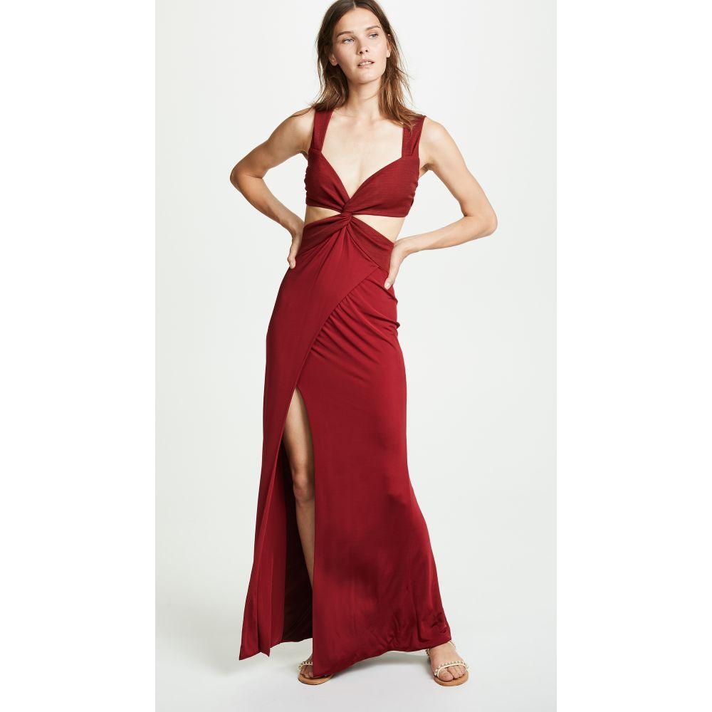 ガルバン レディース ワンピース・ドレス ワンピース【Horizon Dress】Wine