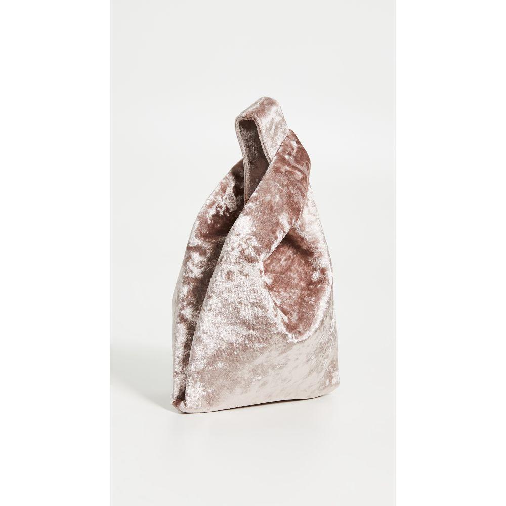 ヘイワード Hayward レディース バッグ トートバッグ【Crushed Velvet Mini Shopper】Pale Pink