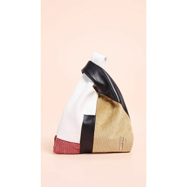 ヘイワード Hayward レディース バッグ トートバッグ【Corduroy Patchwork Mini Shopper】Corn/Pink/White/Black