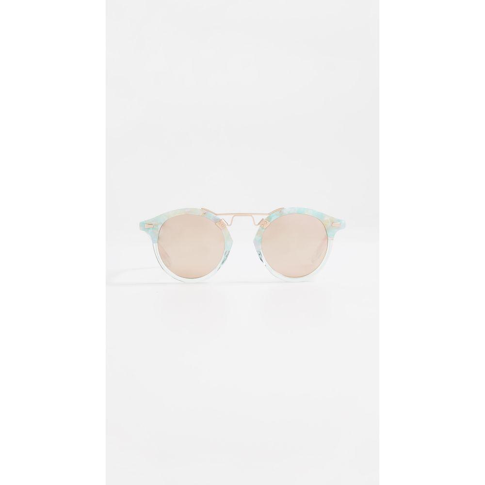 c7a511c5255f クルー オンライン Krewe レディース メガネ·サングラス【St Louis Sunglasses】Seaglass/Rose  Gold:フェルマート クルー レディース ファッション小物 メガネ· ...