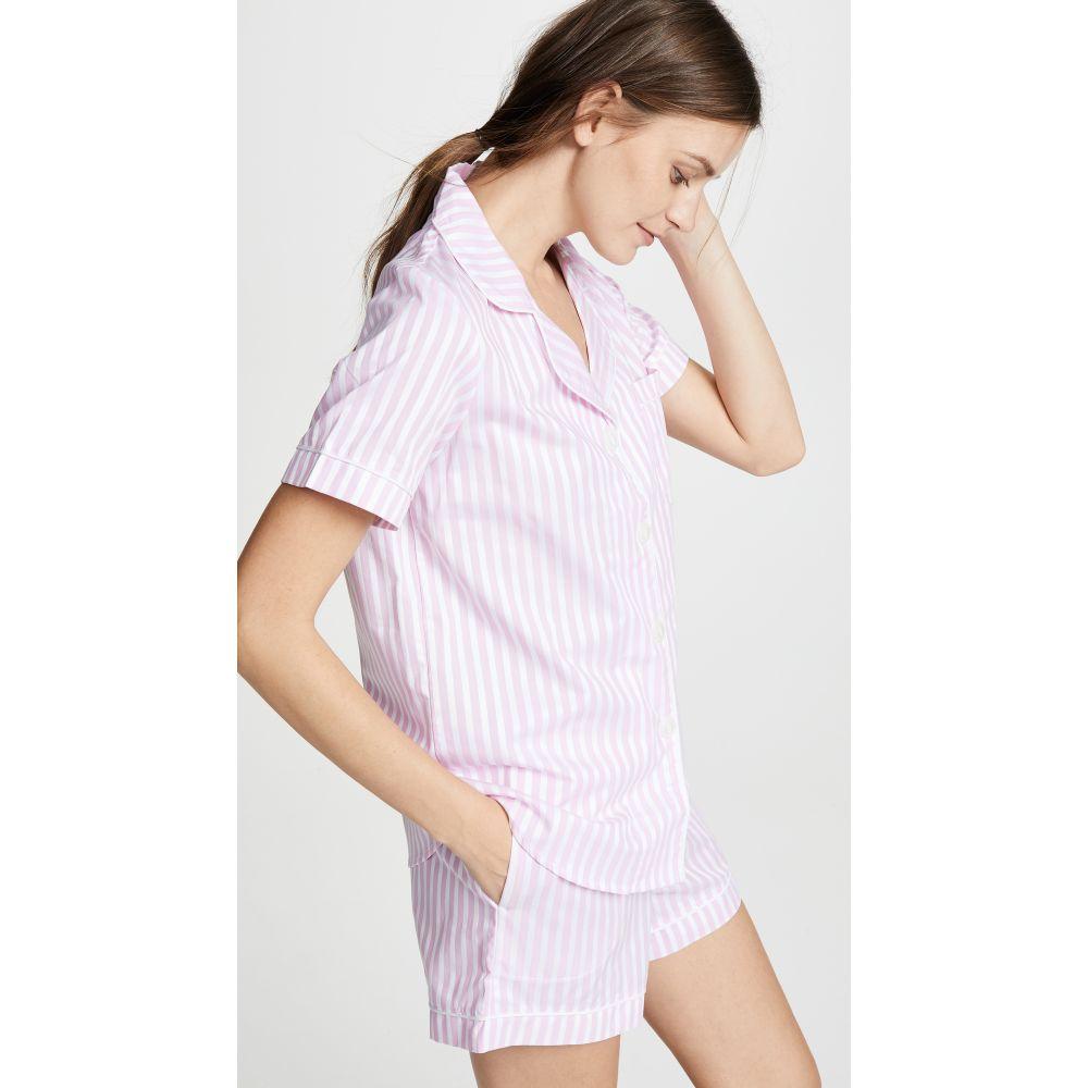 ベッドヘッド Bedhead レディース インナー・下着 パジャマ・上下セット【Classic Stripe Pajama Set】Pink Stripe