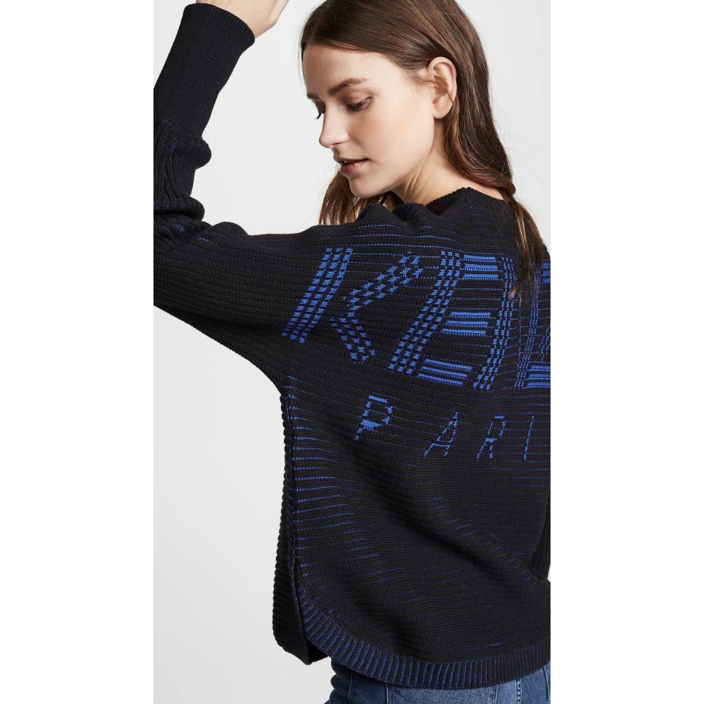 ケンゾー KENZO レディース トップス ニット・セーター【Sport Jacquard Sweater】Black