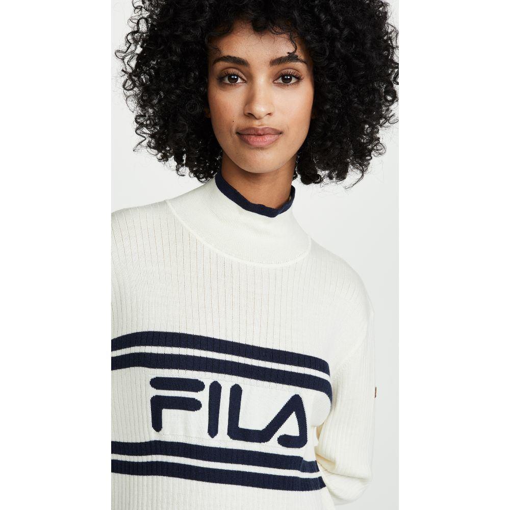 フィラ Fila レディース ワンピース・ドレス ワンピース【Alina Long Line Dress】Egret
