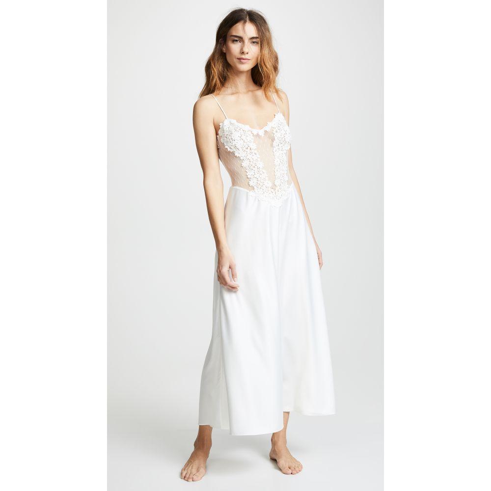 フローラニクルーズ Flora Nikrooz レディース インナー・下着 パジャマ・トップのみ【Showstopper Charmeuse Gown with Lace】Ivory