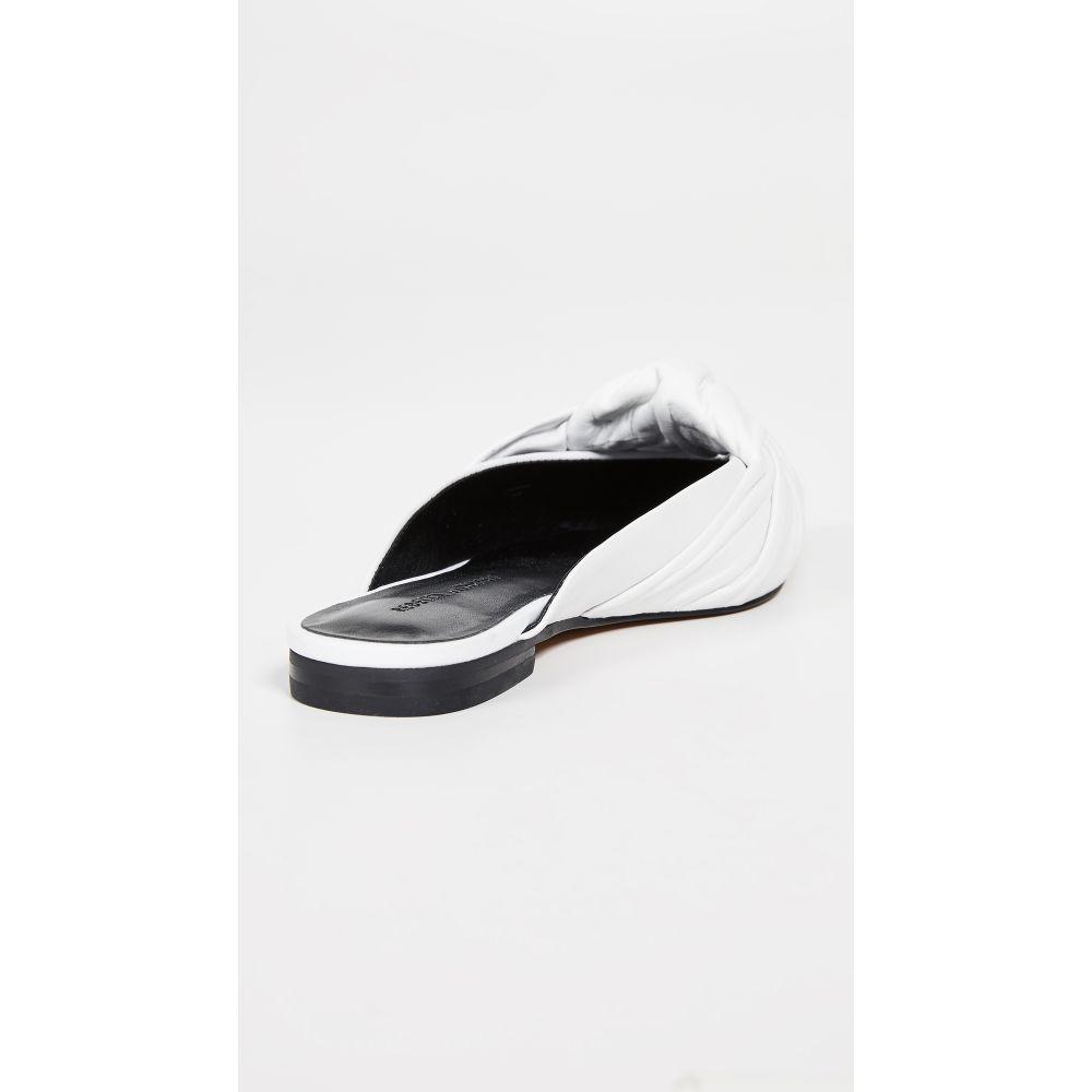 レベッカ ミンコフ Rebecca Minkoff レディース シューズ・靴 サンダル・ミュール【Coretta Point Toe Mules】Optic White