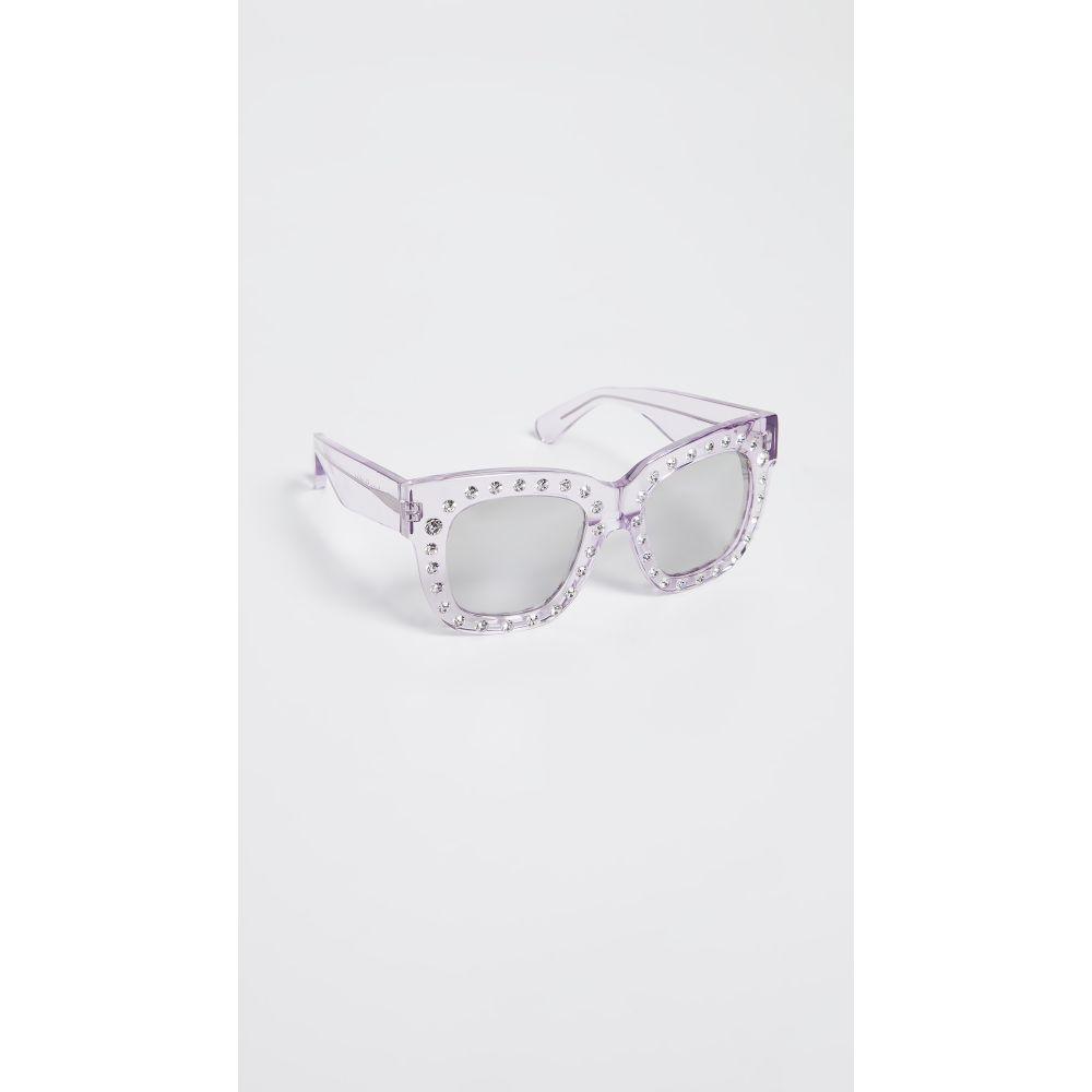 アクネ ストゥディオズ Acne Studios レディース メガネ・サングラス【Library Sunglasses】Lilac/Silver