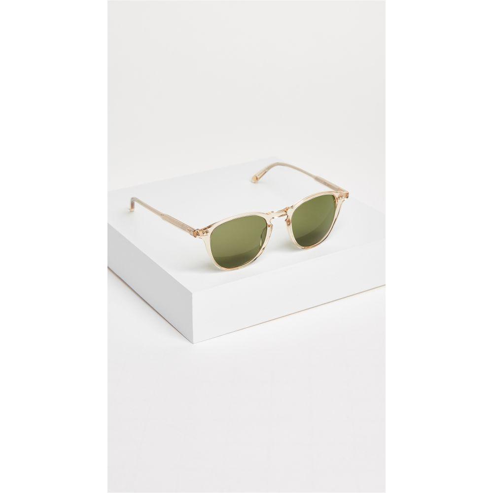 ギャレットライト GARRETT LEIGHT レディース メガネ・サングラス【Hampton Sunglasses】Champagne/Pure Green