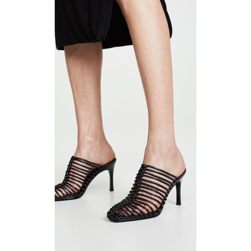 スリーワン フィリップ リム 3.1 Phillip Lim レディース シューズ・靴 サンダル・ミュール【Sabrina 85mm Cage Mules】Black